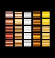 different metal gradients clip-art vector image vector image