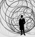 global man vector image