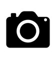 icon pocket digital camera vector image vector image