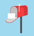Mailbox icon vector image vector image