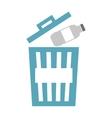waste garbage recycle icon vector image vector image
