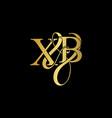 x amp c x c logo initial mark initial letter x vector image vector image