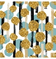 Hand drawn painted seamless geometric pattern with vector image