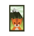 animal wildlife design vector image vector image