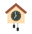 clock creative icon flat style vector image vector image