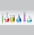 isolated chemist technology equipment vector image vector image