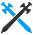 Medieval Swords Icon vector image vector image