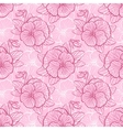 Seamless pattern with pansy vector image vector image