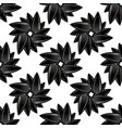 sunflower ripe black seed seamless pattern vector image vector image