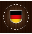 german country flag vector image vector image