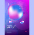 modern brochure cover futuristic design abstract vector image vector image