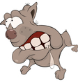 The hunting dog Boxer Cartoon vector image vector image