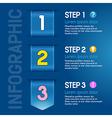 Progress steps vector image