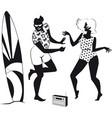 60s beach dancers