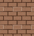 Brick wall seamless in grunge style vector image vector image