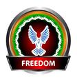 Freedom icon vector image vector image