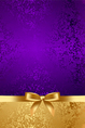 luxury background with gold bow vector image vector image