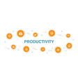 productivity infographic 10 steps template