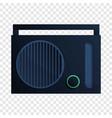radio icon cartoon style vector image vector image