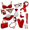 Woman accessories vector | Price: 3 Credits (USD $3)