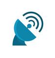 antenna signal gps map and navigation vector image vector image