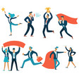 business concepts isolated businessmen vector image