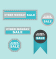 cyber monday sale design elements cyber monday vector image
