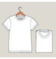t-shirt vector image vector image