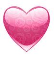 Beautiful heart vector image