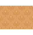 Classic seamless background with orange shade vector image vector image