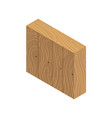 cupboard isometric icon vector image vector image