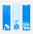 fresh milky banner design vector image vector image