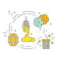 Honey Dipper vector image vector image