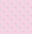 pink polka dot seamless pattern vector image