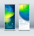 roll up banner stand presentation concept