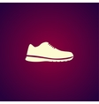 shoe icon Eps 10 vector image vector image