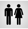 Stock Linear icon male and female vector image vector image