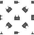 street signboard of beer pattern seamless black vector image vector image