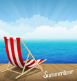 Summertime rest vector image vector image