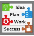 Diagram of Success vector image