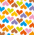 abstract background heart vector image vector image