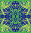 abstract ebru marbling background vector image vector image