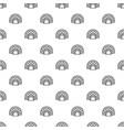 arctic igloo pattern seamless vector image vector image