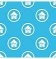 For rent sign blue pattern vector image vector image