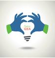idea business conceptual background vector image vector image