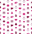 seamless background with traditional objects vector image vector image