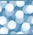 snowball pattern winter background christmas and vector image vector image
