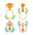 Trophy design vector image vector image