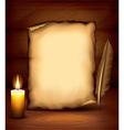 candle paper dark background