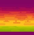 colorful background of sunset with hot vector image vector image